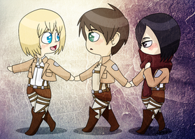 aot: Us Together by Rose-McSugar