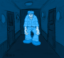Ghost janitor by Mara999