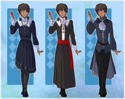 OC :: Noe outfits by xCastra