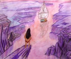 Pocahontas Farewell by silveranklets