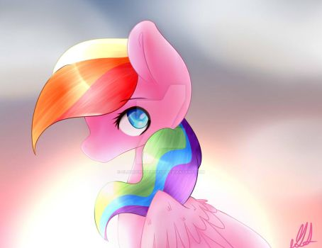 Clouded Sunset by Cloudchaser101YT