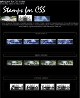 Stamps Designs: Need CSS Coder by cssdesigns