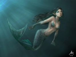 Mermaid by niqsniqs