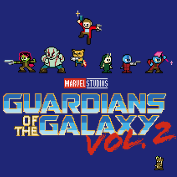 Guardians of the Galaxy Vol.2 by ElPino0921