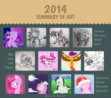 2014 Summary of Art by Violyre