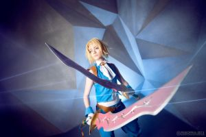 Dissidia Final Fantasy - Zidane by Pugoffka-sama