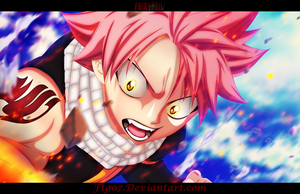 Fairy Tail 434: Natsu by Ftg07
