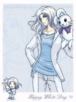 Dissidia - WhiteDay2014 by blackwing-dias