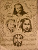 the Hobbit: Bofur tells... by Lysyth