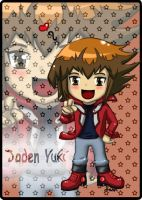 Jaden Yuki Chibi Card by ColorCosmosFlurry