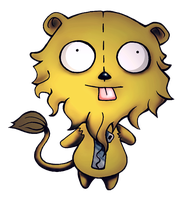 Gir: The Cowardly Lion by goRillA-iNK