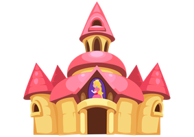 Peach Castle by Karnia