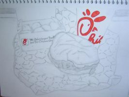 Chick-Fil-A by xnouseforanamex