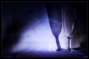 A Glass of...   Blue? by DreamMedia-UK