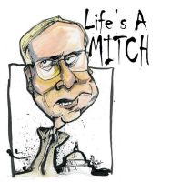 Life's A Mitch by sketchoo