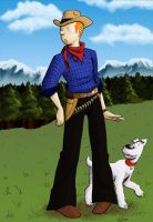 Tintin in America by XtreamCrazy