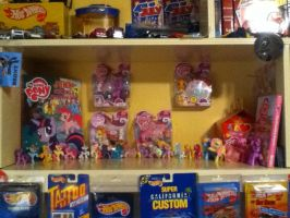 New shelf for my MLP figures by RamenWolf1485