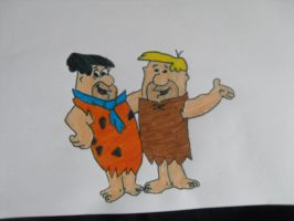 The flinstones by RebeccaG1999