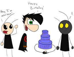 Wrong Birthday by HyperactiveMothMan