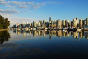 Vancouver City And Park by ajithrajeswari