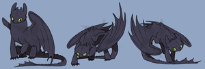 Toothless SQUIBY by iPhysik