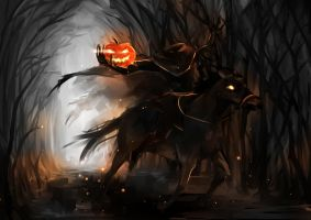 Headless Horseman by feeshseagullmine