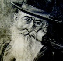 Old Man-detail by lauracarter