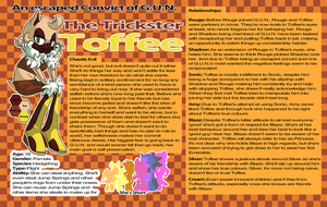 {Character Profile} Toffee The Hedgehog by ToffeeTH