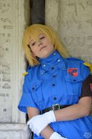 Seras Victoria by BlueBlackDiamond