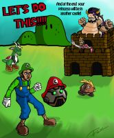 Spill.com Lets Do This Mario by Anchony
