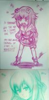 Neptunia Sketchies! by Men-dont-scream
