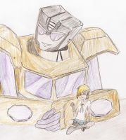 Swindle and Reimei-kage by candlehat