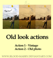 Old look actions by blood-marry