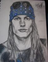 Axel Rose by incunator