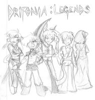 Drifonia:Legends by Koriyu