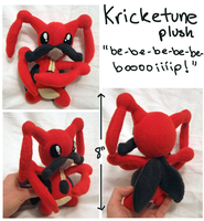 Kricketune plush for Yasha-headsel by SilkenCat
