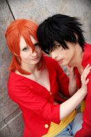 Luffy x Nami (LuNa) by KaLi-Cosplay