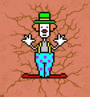 Clown In Canyon by cart00nlion