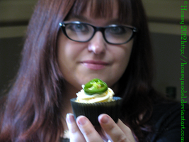 Cupcake #1: Jalapeno Popper by honeyhalliwell