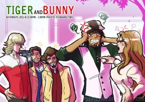 Tiger and Bunny_ A Normal Day by applepie1989