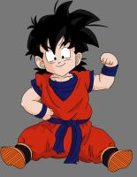 gohan kid by crowshot27