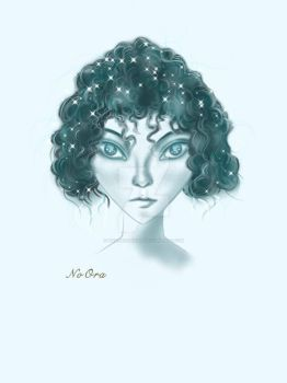 this peautiful she visted me in my dream by NoOradrawing