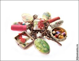 Old room needlewomen charms by allim-lip