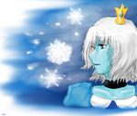 Ice Princess Fanart by 360DegreesCelsius
