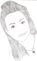 Amy Lee drawing by bubblenubbins