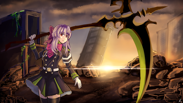 Shinoa Hiiragi! by Karias-K