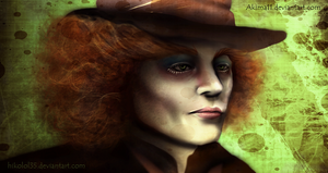 .::Collab::. Mad Hatter by Hikolol35