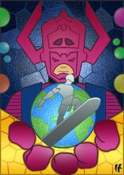 CBNAH AA Stained Glass/Tiled Galactus by Omniversal