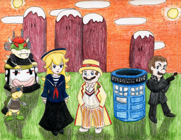 Doctor Mario by eightcrows