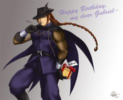 Birthday wishes from Vega ^^ by TixieLix